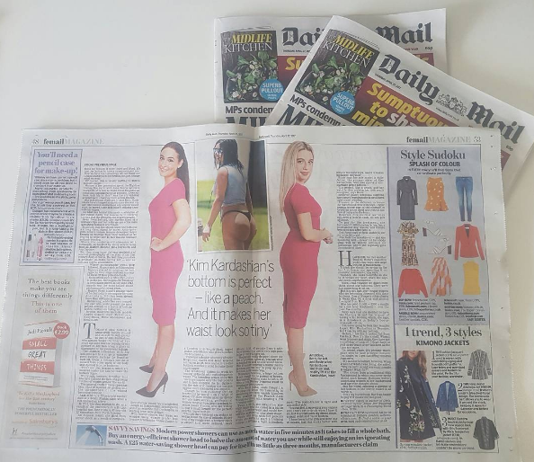 Dailymail talks lipofirmpro